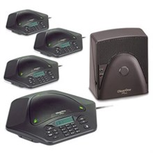 ClearOne MAX EX Corded Conference Phones clearone maxattach plus 2 w/ extra expansion base