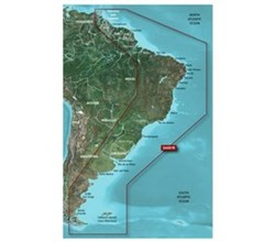 Garmin Central South America Bluechart Watermaps garmin hsa001r south america east coast