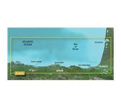 Spain Bluechart Maps garmin 010 c0829 00