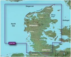 Germany Bluechart Maps garmin heu474s northern denmark & the eider