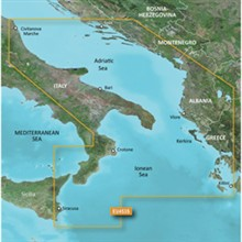 Italy Bluechart Maps garmin 010 C0797 00