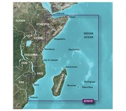 Garmin Africa BlueChart Water Maps garmin 010 c0747 00