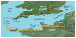 English Channel Bluechart Maps garmin 010 c0760 00