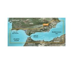 Spain Bluechart Maps garmin 010 C0799 00