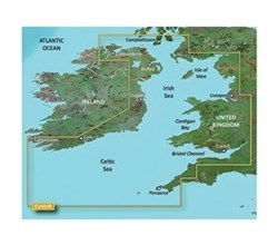 Ireland Bluechart Maps garmin 010 c0763 00