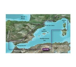 Meriterranean Sea Bluechart Maps  garmin 010 c0768 00