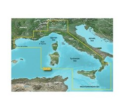 Meriterranean Sea Bluechart Maps  garmin 010 c0770 00
