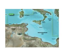 Meriterranean Sea Bluechart Maps  garmin 010 c0771 00