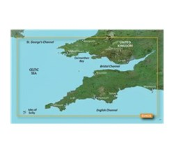 English Channel Bluechart Maps garmin 010 C0807 00
