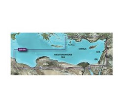 Meriterranean Sea Bluechart Maps  garmin 010 c0774 00