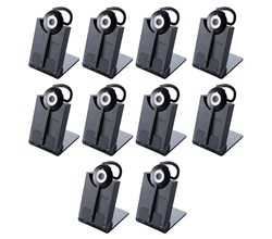 Jabra GN Netcom 10 Headset Bundles pro 930 uc mono 10 pack