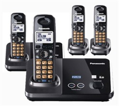 Panasonic 2 Line Cordless Phones panasonic kx tg 9322t