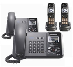 Panasonic 2 Line Corded Phones panasonic kx tg9391t