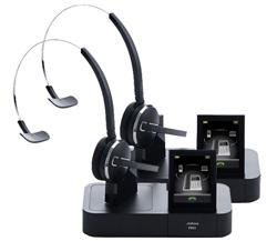 Jabra GN Netcom 2 Headset Bundles jabra gn netcom pro 9470 mono 2 pack
