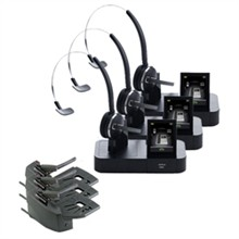 Jabra GN Netcom 3 Headset Bundles jabra gn netcom pro 9470 mono 3 pack