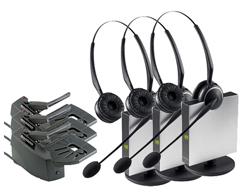Jabra GN Netcom 3 Headset Bundles jabra gn9125 duo with lifter 3 pack