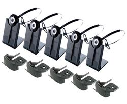 Jabra GN Netcom 5 Headset Bundles jabra gn netcom pro 920 5pack