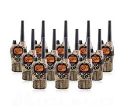 12 Radios midland xtra talk gxt1050vp4 camo 12pack