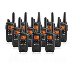 12 Radios midland xtra talk lxt600vp3 12pack