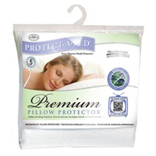Protect A Bed Bed Bug Proof / Bug Lock Pillow Encasements  protect a bed premium pillow protector queen