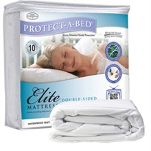 Protect A Bed King Size Water Proof Mattress Protectors  protect a bed elite mattress protector king