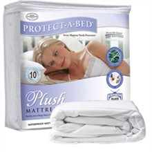 Protect A Bed Twin XL Size Water Proof Mattress Protectors  protect a bed plush mattress protector twin xl