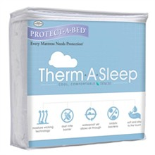 Protect A Bed King Size Water Proof Mattress Protectors  protect a bed therma mattress protector