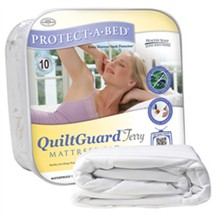 Protect A Bed Queen Size Mattress Protectors  protect a bed quilt terry mattress protector