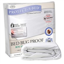 Protect A Bed California King Size Bed Bug Proof / Bug Lock Mattress Protectors  protect a bed bed bug proof box encasement