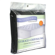 Protect A Bed Twin Extra Long Size Mattress Protectors  protect a bed mattress storage bag banner