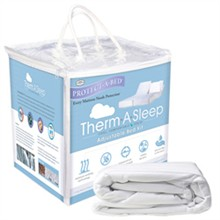 Protect A Bed King Size Therm A Sleep Mattress Protectors  protect a bed therma adjustable bed kit king