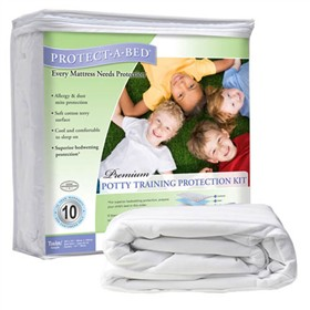 protect a bed potty training kit