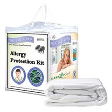 Protect A Bed Twin Size Allergy Proof / Allerzip protect a bed allergy protection kit twin size