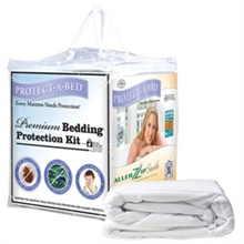 Protect A Bed Twin Extra Long Size Mattress Protectors  protect a bed premium protection kit
