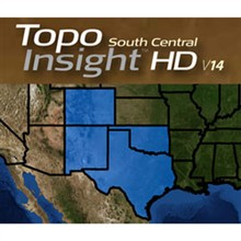 Lowrance Topo Insight lowrance insight hd south central v14