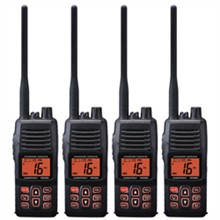 Standard Horizon 4 Pack VHF Radio Bundles standard horizon hx400is