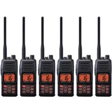 Standard Horizon 6 Pack VHF Radio Bundles standard horizon hx400is