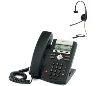 polycom 2200 12360 025 w Jabra headset option