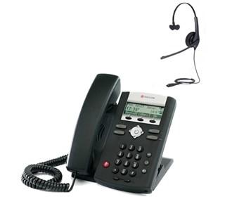 polycom 2200 12375 025 w Jabra headset option