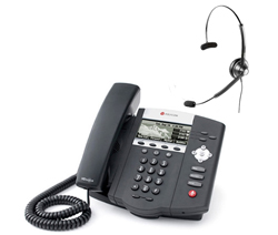 Polycom SIP Voice Over IP Phones polycom 2200 12450 001 w headset option