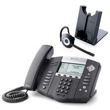 Polycom 4 Line SIP VOIP Phones polycom 2200 12560 025 w Jabra headset option
