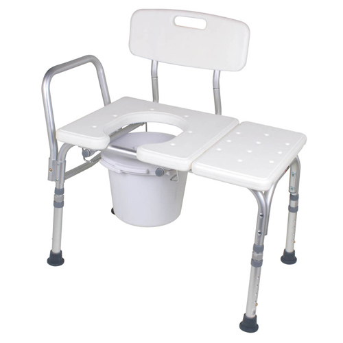 Carex Bathtub Transfer Bench With Opening And Bucket