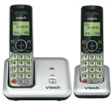 VTech two handset phones VTech cs6419 1 cs6409