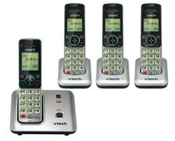 Vtech DECT 6.0 Cordless Phones vetch cs6619 3 CS6609