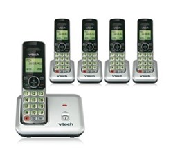 5 Handsets VTech cs6419 4 cs6409