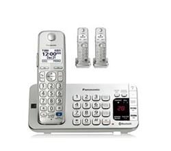 Panasonic Single Line Cordless Phones 3 Handsets panasonic kx tge273s