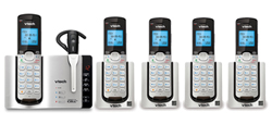 4 Handsets Phones with an Answering Machine   VTech ds6671 3 3 ds6071
