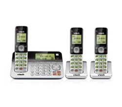 3 Handsets Phones with an Answering Machine   VTech cs6859 2 1 cs6709