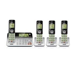 4 Handsets Phones with an Answering Machine   VTech cs6859 2 2 cs6709