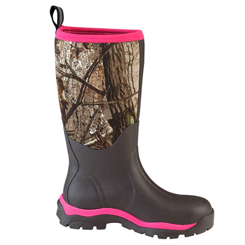 muck boot muck boots woody max real tree xtra black size 8